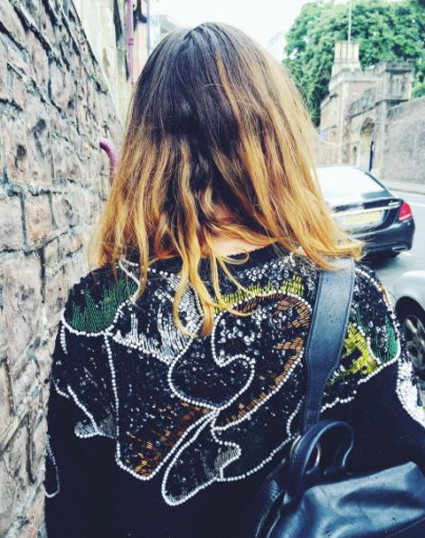 sequin jumper, melbourne style, charity shop, jumper, styleblogger